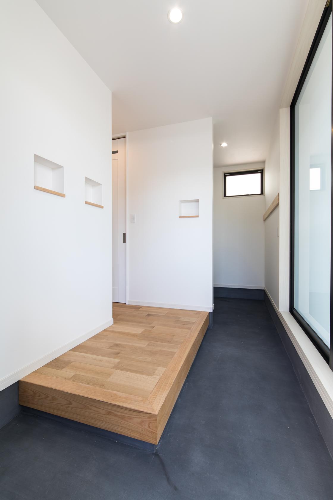 空間を贅沢に使った、ゆとりあるデザイン住宅